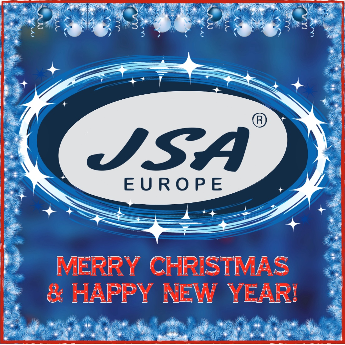 We wish you happy holidays and good luck in 2018 jsa europe - Happy new year sound europe ...